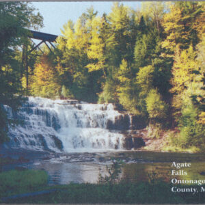 Agate Falls Ontonagon County Michigan Mousepad