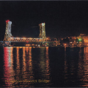 Houghton Hancock Bridge Upper Michigan Mousepad