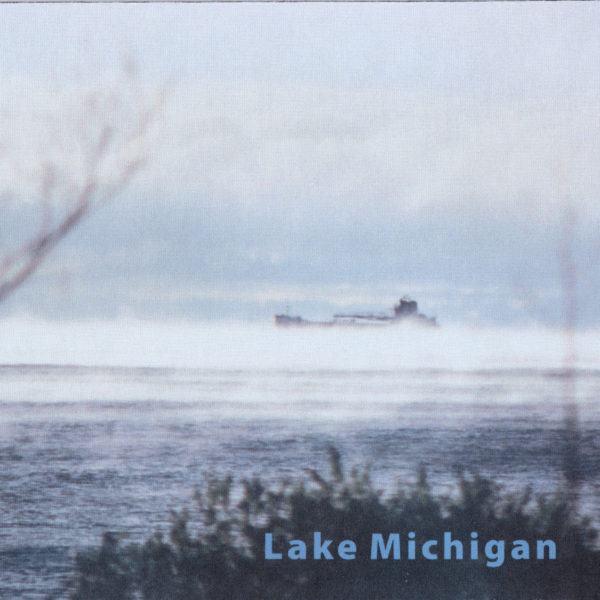 Lake Michigan Freighter Mousepad USA