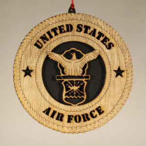 Military Air Force Ornament USA