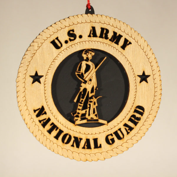 Military Army National Guard Ornament USA