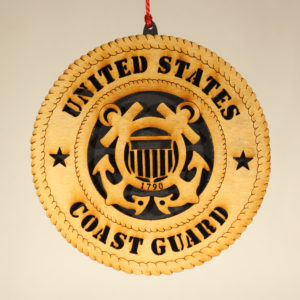 Military Coast Guard Ornament USA