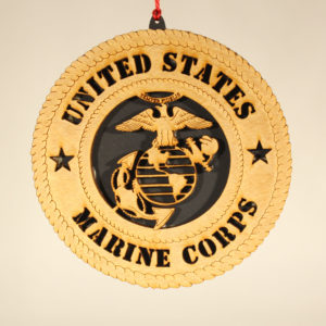 Military Marine Ornament USA
